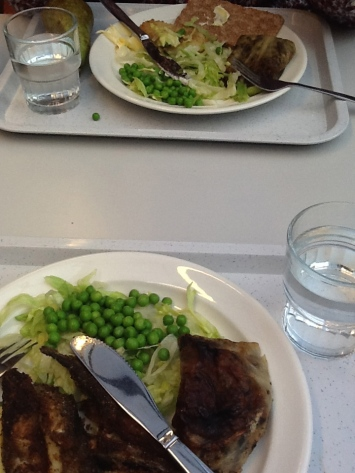 Lunch at a Helsinki school