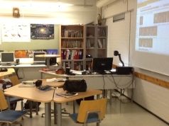 Teachers' workspaces look the same the world over. Here is one in Finland and another in Denmark