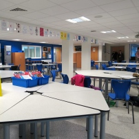 Flexible furniture and configuration of space will support Flipped Learning.
